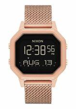 Nixon A1272 Siren mesh watch in gold