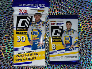 2021 Auto Donruss Racing Panini NASCAR Trading Card Fat or Small Packs 🏎💨