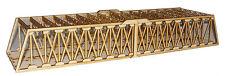 BR009 Twin Track Extra Long Girder Rail Bridge OO Gauge Model Laser Cut Kit