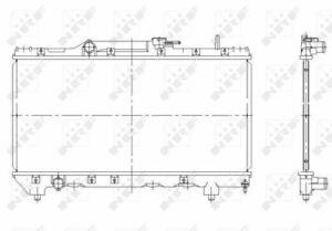 NRF 507590 Kühler Motorkühlung Mann
