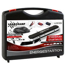 LOADCHAMP 850A 21000mAh ENERGIESTATION MOBILE AUTO STARTHILFE POWERBANK GERÄT