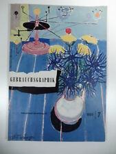 Gebrauchs graphik 1953