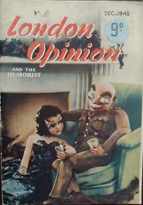 Vintage London Opinion Magazine - December 1945
