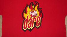 SLIM JIM DARE Beef Jerky T-Shirt Size XL Habanero Smoked Sticks