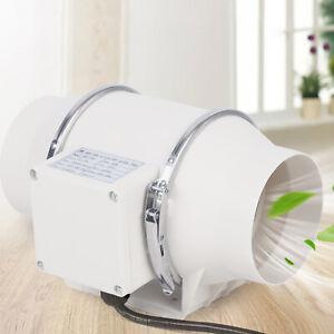 Rohrlüfter Ventilator Lüfter Rohrventilator mit Kugellager 100 / 150 / 200 mm