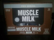 Muscle Milk Pro Series Protein Shake, Knockout Chocolate, 40g Protein, 14 FL