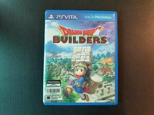 (English Version) PS VITA Dragon Quest Builders USED