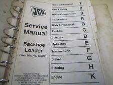 JCB Backhoe Loader Series 3 Service Manual