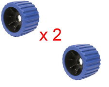 "Wobble Roller 3"" x 100mm Blue x 2"