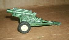 1/60 Scale TootsieToy Howitzer Artillery Cannon Diecast Model Vintage Toy Weapon