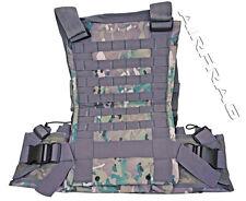 Adjustable MOLLE Web Tactical Vest - Digi Camo - 12 Front/Back Straps