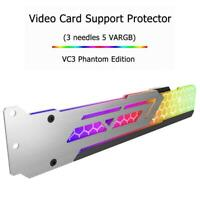 Jonsbo Gorgeous Graphics Card Support Frame 3Pin 5V ARGB LED Video Card Holder