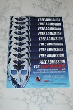 HOCKEY HALL OF FAME TORONTO CANADA YOUTH ADMISSION VOUCHER (0-13 YRS) VALUE $14