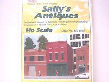Ho Rix Smalltown Kit Sally'S Antiques. Kit pack is still sealed & never opened.