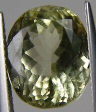 9.00ct Afghanistan 100% Natural Yellow Kunzite Spodumene Oval Cut Gemstone 1.80g