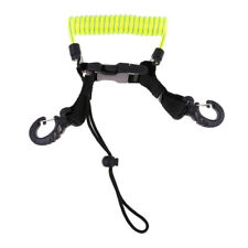 New listing Scuba Diving Dive Camera Lights Torch Lanyard with Quick Release Buckle Clip