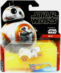 Hot Wheels Star Wars Character Cars BB-8 Droid Car Die-Cast 1:64 Scale
