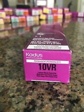 KADUS Professional Extra Rich Creme Permanent Hair Color 10VR  Blonde Violet Red