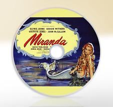 Miranda (1948) DVD Classic Fantasy Movie / Film Glynis Johns Griffith Jones