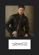 JENSEN ACKLES #1 A5 Signed Mounted Photo Print - FREE DELIVERY
