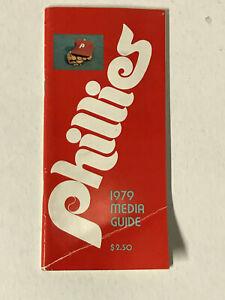 1979 PHILADELPHIA PHILLIES MEDIA GUIDE