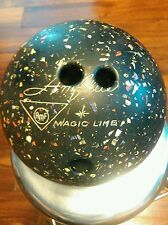 RARE VINTAGE AMFLITE AMF MAGIC LINE BOWLING BALL 10lbs COLOR FLAKES