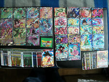 LOT 119 CARTES DRAGON BALL SUPER CARD GAME VF BT5 Full Set (C, UC, R,SR)