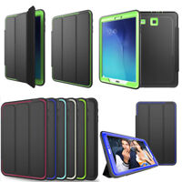 Shockproof Magnetic PU Leather Smart Case Cover for Samsung Galaxy Tab A E S3