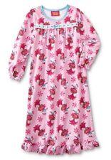 TROLLS Nightgown Girl's size 6 NeW Soft Warm Flannel Pjs Gown Poppy Pajamas USA