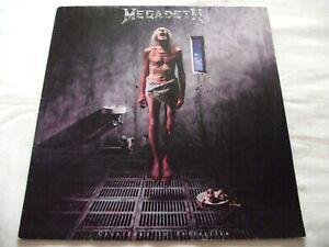 MEGADETH ~ COUNTDOWN TO EXTINCTION ** 1992 1st Pressing CAPITOL LP