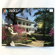 Milton Bradley Grand 2500 pc St Francisville Louisiana Plantation Factory Sealed