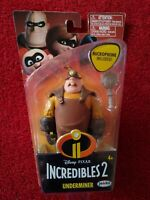 Disney Pixar Incredibles 2 Movie Action Figure Underminer Brand New