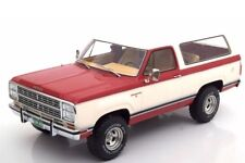 1979 Dodge Ram Charger Red and White by BoS Models LE of 1000 1/18 Scale New!