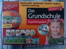 Das Grundschule Superlernpaket 1.-4. Klasse von Fran... | Software 4CD-Roms