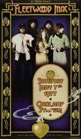 FLEETWOOD MAC-STEVIE NICKS 1977 RUMOURS TOUR CONCERT POSTER-FIRST PRINTING