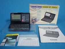 Great Vintage Casio Digital Diary Computer w/ Orig box + Paperwork