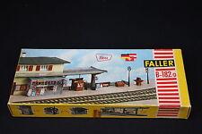 W020 FALLER Train Maquette B-182/D Gare quai journaux affiche plastique diorama
