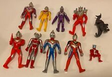 Ultraman Lot of 10 figures 1989 to 2013.
