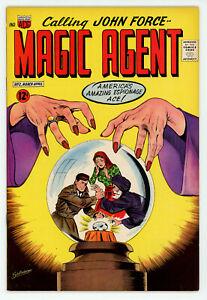JERRY WEIST ESTATE: MAGIC AGENT #2 (ACG 1962) VF/NM & SPY-HUNTERS #11 (ACG 1951)