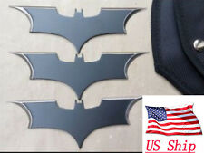 3 PCS Batman Bat Metal Darts Swiss Suit Edged Outdoor Training Tool Multi Tools
