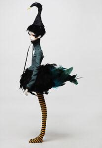 BJD SD boy Douglas 1/4 doll free eyes + faceUp black swan Free shipping