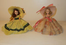Vintage Nancy Ann Storybook Dolls Hard Plastic 6.5""