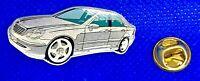Mercedes Benz Pin C-Klasse W203 glasiert silber - Maße 40x20mm