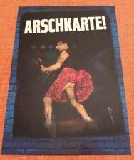 "W:O:A 2017 WACKEN OPEN AIR Postkarte ""Arschkarte!"" von Radio BOB!"
