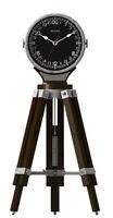 Bulova Corsair Quartz Military Time Tripod Design Tabletop Clock B1533