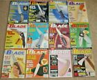 12 BLADE Magazines Knives Complete Year 2000 Vol. 27 Issue 1-12 Uncirculated NOS