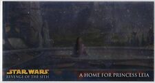 STAR WARS TOPPS REVENGE OF THE SITH WIDEVISION RETAIL CHROME FOIL INSERT R10