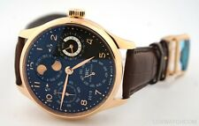IWC PORTUGUESE PERPETUAL CALENDAR MOONPHASE 18K ROSE GOLD IW503202 WATCH