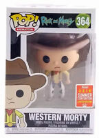 Funko Pop Western Morty Rick and Morty SDCC 2018 Shared Exclusive New In Hand