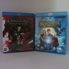 Dragon Age: Dawn of the Seeker Blu-ray + The Sorcerer's Apprentice Pre-Owned